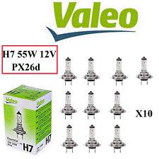 Lot de 10 ampoule feux halogéne H7 55 watts 12 volts Essential