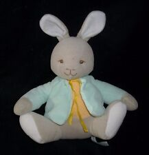 VINTAGE 1996 TOMY BUNNYKINS VELOUR ROYAL DOULTON BUNNY STUFFED ANIMAL PLUSH TOY