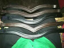 Lot 6 x 1 Empty Channel English Padded Bridle Browband 6 MM & 8 MM Free Shipping