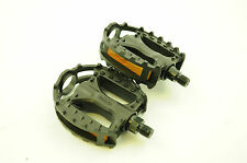 "1/2"" BMX o BICI JUNIOR MTB Trappola RESIN BLACK BEAR pedali un pezzo manovella pe909"