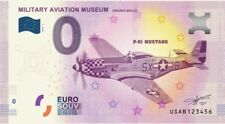 Billet Touristique 0 Euro --- Military Aviation Museum (Mustang)  2018-1