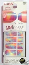 Kiss Nail Gel Dress Gel Polish Solution Gel Strips # 60638 Debutante Beautiful!