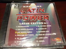 LATIN POWER KARAOKE VCD DVD VCLP-012 LATIN EXITOS VOL 2  SEALED