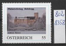 Österreich  personalisierte Marke Philatelietag BRIXLEGG 8028358 **