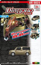 DIAROBO DIAPET DR-0024 AGATSUMA NISSAN CUBE (BRONZE) CAR TO ROBOT TOY