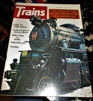 Trains Magazine October 1973 Issue