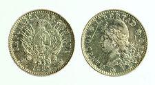 pcc1816_2) Argentina 10 Centavos 1883 Silver - scratch