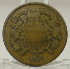1865 United States two cent piece, #69187-002