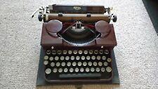 vintage typewriter, Royal Portable Typewriter from the 1930s