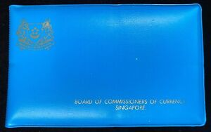 1977 Singapore - Year of the Snake - Mint Set with Original Blue Wallet