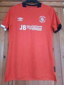 Luton Town Umbro Football Shirt Size Small