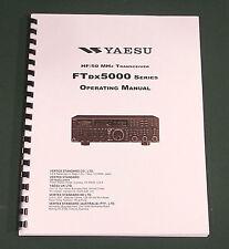 Yaesu FTdx-5000 Operating Manual - Premium Card Stock Covers & 32lb Paper!