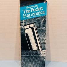 How To Play The Pocket Harmonica Manual by Peter Picklow