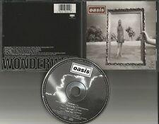 OASIS Wonderwall 5 Trx w/ 3 UNRELEASED T& 1 LIVE LIMITED USA CD Single 1994 MINT