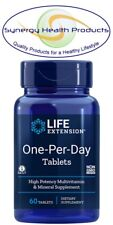 Life Extension One-Per-Day Tablets - 60 - High Potency Multivitamin & Mineral