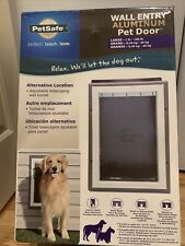 PetSafe Aluminum Telescoping pet door (Wall Mount)