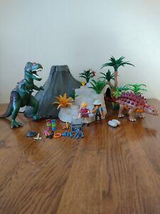 Playmobil 5230 T-Rex And Volcano, no box