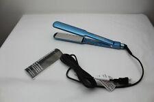 "Babyliss Pro Nano Titanium Blue Flat Iron Wet or Dry 1.5"" BABNT5073TN 38Q94"
