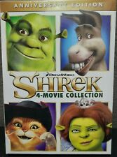 "Shrek 4 Movie Collection Anniversary Edition Dvd Set Dreamworks ""New Sealed"""