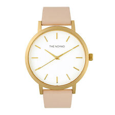 The Nomad Watch Unisex Leather Watch NUDE