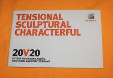 Seat 20V20 Concept 2015 Prospekt Brochure Catalog Depliant Prospetto Ateca