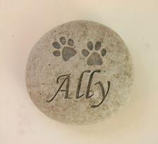 Paw Prinst Pet Memorial Custom Engraved Memorial Stone Pet Loss Personalized