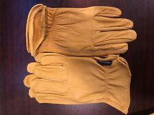3 PAIR of Leather Work Gloves Size Large