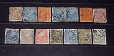 NEW CALEDONIA 1905 ISSUES  S/SET OF 14 TO 75C F/U