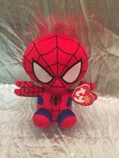 "New! Ty Beanie Babies MARVEL - SPIDER MAN 6"""