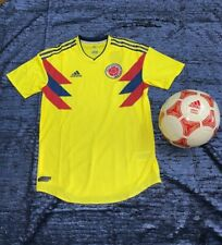 473043c7778 Adidas Colombia 2018 Home Player Issue Short Sleeve Jersey Size L MSRP  130