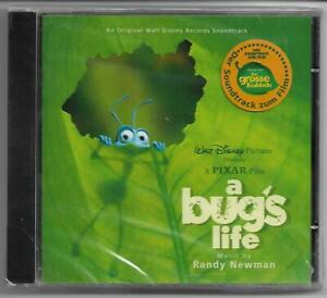 a bug´s life - Music by RANDY NEWMAN - Soundtrack CD 1998 NEU & OVP/NEW/Sealed