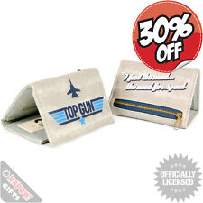NEW Top Gun 80s Movie Wallet Film Cool Retro Money Purse Cruise Kelly McGillis