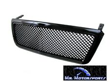 Black Mesh Front Grille for 04-08 Ford F150 Truck 05 06 07 Replacement Grill