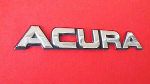 Original 1987-1988-1989-1990 Acura Legend ACURA Trunk Lid Emblem