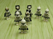 Lot of 9 Lego Star Wars Clone Troopers Galactic Republic