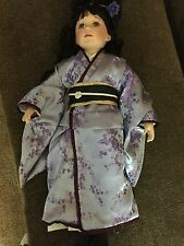 "Collectible doll Maud Humphrey Seymour Mann 2003 27.5"" high with Geisha dress(1)"