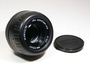Zenitar-K K2 MC 2/50mm with Pentax-K bayonet mount lens -  Lot of 10 lens