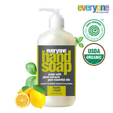 [EO Everyone]Hand Soap For Clean healthy hands Lemon+ basil-377ml / Hand Washes