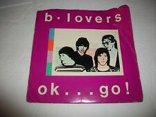 B - LOVERS - OK...GO! - POWER ROCK OBSCURE PUNK - GARAGE EP w/RARE INSERT & P/S