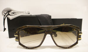 Cazal 163/3 Sunglasses 163 Rare Color 096 Brown Gold Authentic New
