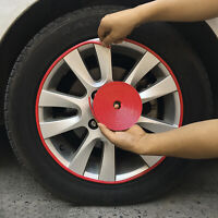 8M/Roll Car Wheel Hub Cover Protector Ring Tire Rims Sticker Rubber Strip Useful