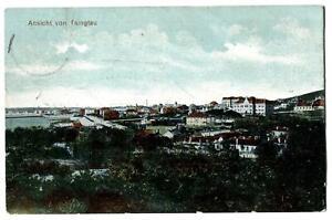 alte AK Ansicht von Tsingtau Kiautschou 1913