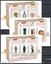 2012 Postzegelbeurs beurs Postex Apeldoorn blokjes 2751-C-26/28 nrs 11-13