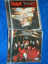 LOT 2 CD SLIPKNOT vol.3 the subliminal verses 2004 & 1999 Roadrunners