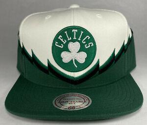 Mitchell and Ness NBA Boston Celtics Steal Snapback Hat, Cap, New