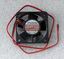 "Sunon 40mm x 10mm Fan 5V DC Bare 12"" Leads 40x10mm KDE0504PFS1-8"