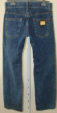 DOLCE & GABBANA Straight Leg Jeans #16 Classic Mens Size 46 Made in Italy