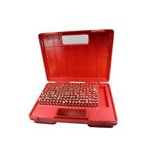 T0019 Pin Gage Set M1 0061 To 0250 Minus Class Zz