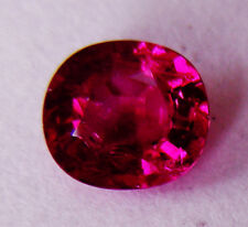 Faceted In Germany +Certificate Included 1.13ct! Ruby Natural Colour Expertly