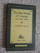 THE RED BADGE OF COURAGE & others by Stephen Crane  Collector's Library Edition